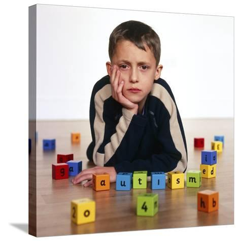Autistic Boy-Kevin Curtis-Stretched Canvas Print