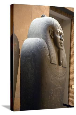 Sarcophagus of Ahmes-Colin Cuthbert-Stretched Canvas Print