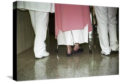 Patient Assistance-Cristina-Stretched Canvas Print