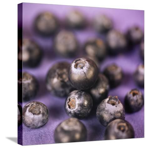 Blueberries-Cristina-Stretched Canvas Print