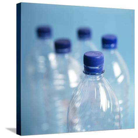Plastic Water Bottles-Cristina-Stretched Canvas Print