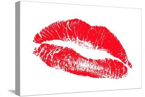 Lips-Victor De Schwanberg-Stretched Canvas Print
