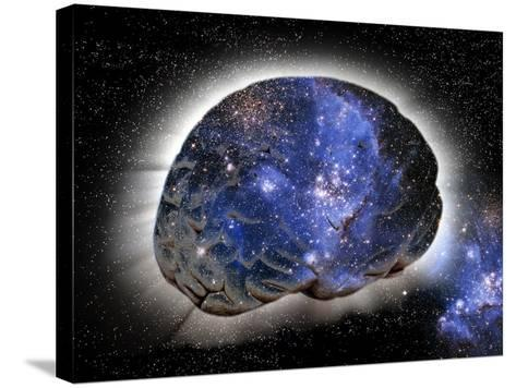 Cosmic Consciousness, Conceptual Artwork-Victor De Schwanberg-Stretched Canvas Print
