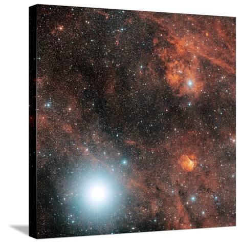 Deneb And Emission Nebulae-Davide De Martin-Stretched Canvas Print