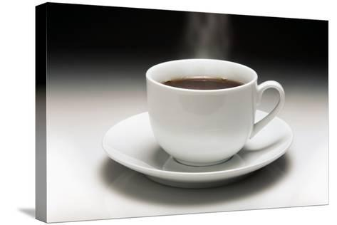 Cup of Coffee-Victor De Schwanberg-Stretched Canvas Print