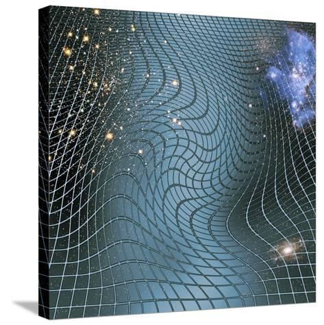 Gravity Waves In Space-time, Artwork-Victor De Schwanberg-Stretched Canvas Print