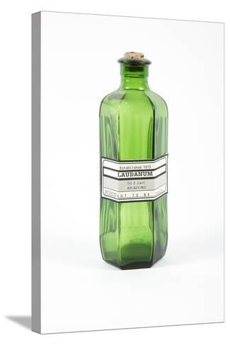 Antique Laudanum Bottle-Gregory Davies-Stretched Canvas Print