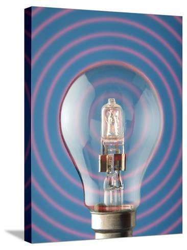 Light Bulb-Victor De Schwanberg-Stretched Canvas Print