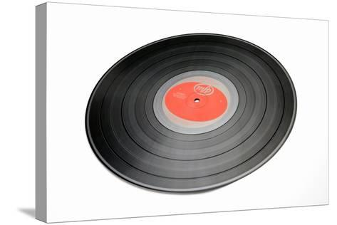 Vinyl Record-Victor De Schwanberg-Stretched Canvas Print
