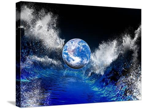 End of the World, Conceptual Artwork-Victor Habbick-Stretched Canvas Print