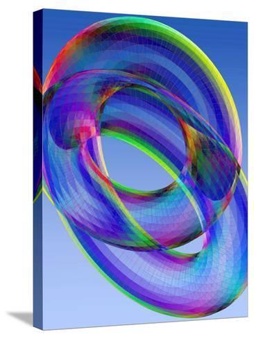 Torus-Eric Heller-Stretched Canvas Print