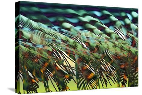 Electron Flow-Eric Heller-Stretched Canvas Print