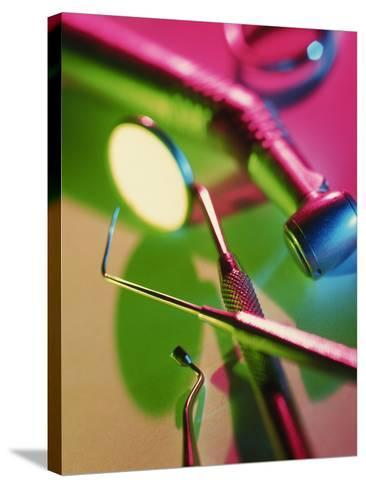 Dentistry Equipment-Tek Image-Stretched Canvas Print