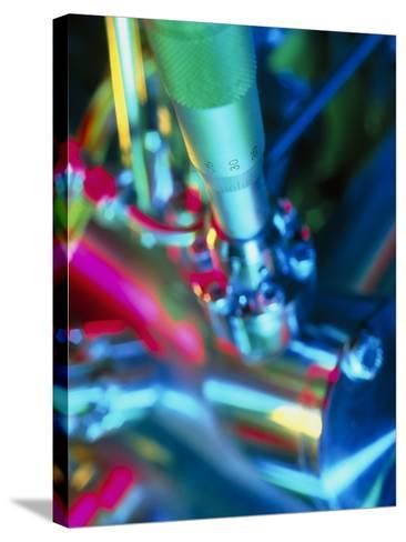Close-up of Part of a Mass Spectrometer-Tek Image-Stretched Canvas Print