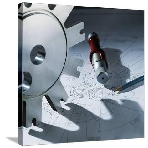 Engineering Equipment-Tek Image-Stretched Canvas Print
