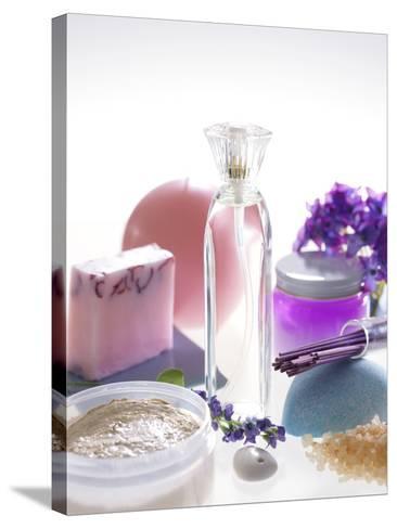 Aromatherapy-Tek Image-Stretched Canvas Print