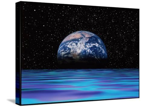 Earthrise-Mehau Kulyk-Stretched Canvas Print