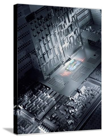 Future Electronics-Richard Kail-Stretched Canvas Print