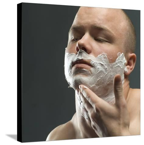 Shaving Foam-Coneyl Jay-Stretched Canvas Print