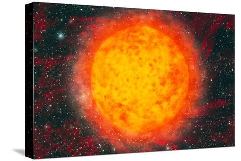 Computer Artwork of the Sun-Mehau Kulyk-Stretched Canvas Print