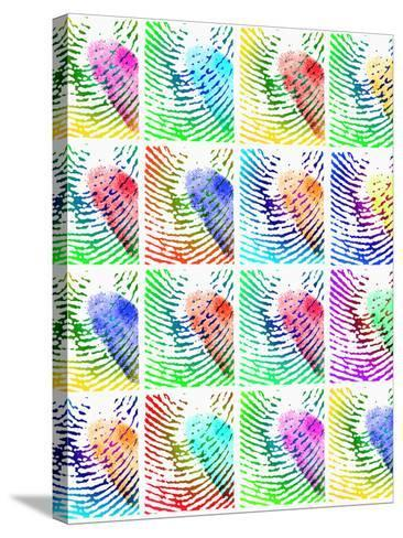 Fingerprints-Mehau Kulyk-Stretched Canvas Print