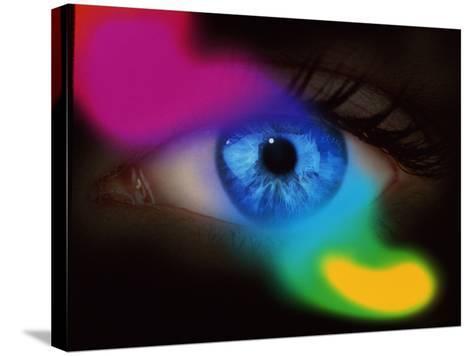 Human Eye-Mehau Kulyk-Stretched Canvas Print