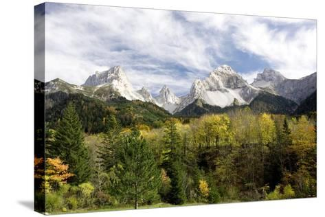 Vercors Mountains, France-Bob Gibbons-Stretched Canvas Print