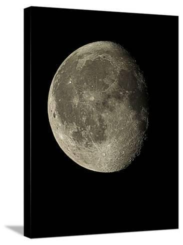 Waning Gibbous Moon-Eckhard Slawik-Stretched Canvas Print