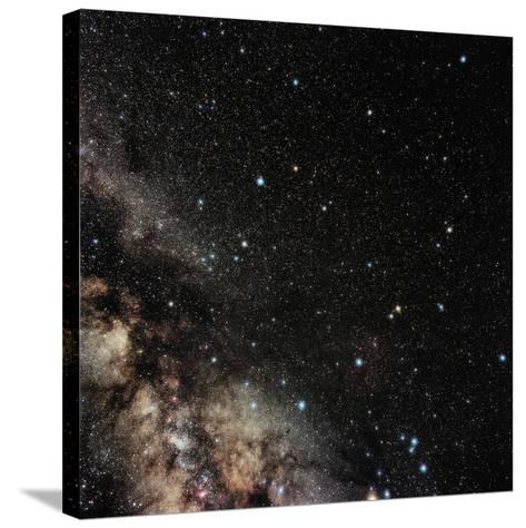 Ophiuchus Constellation-Eckhard Slawik-Stretched Canvas Print