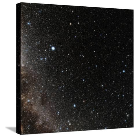 Hercules Constellation-Eckhard Slawik-Stretched Canvas Print