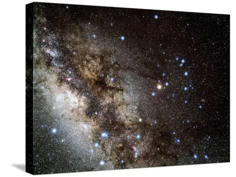Scorpius Constellation-Eckhard Slawik-Stretched Canvas Print