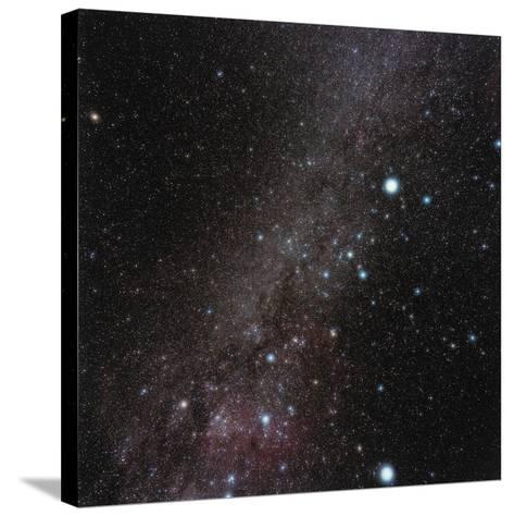 Canis Major Constellation-Eckhard Slawik-Stretched Canvas Print