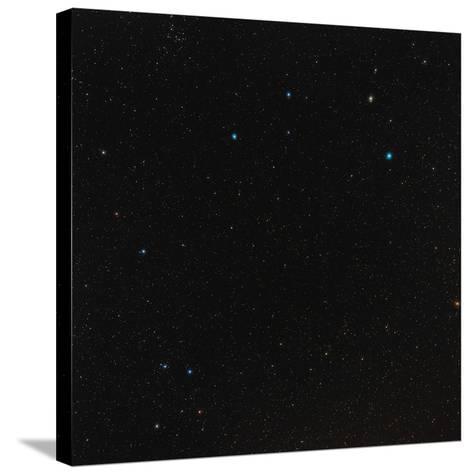 Leo Constellation-Eckhard Slawik-Stretched Canvas Print