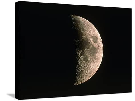 Waxing Crescent Moon-Eckhard Slawik-Stretched Canvas Print