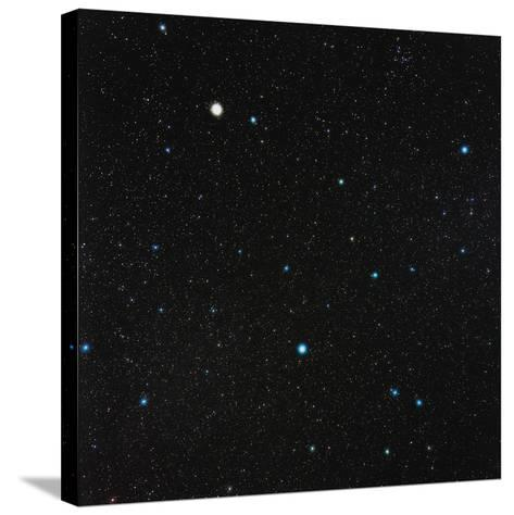 Virgo Constellation-Eckhard Slawik-Stretched Canvas Print