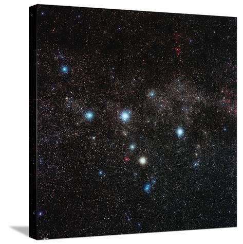 Cassiopeia Constellation-Eckhard Slawik-Stretched Canvas Print