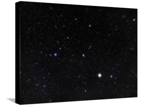 Bootes Constellation-Eckhard Slawik-Stretched Canvas Print
