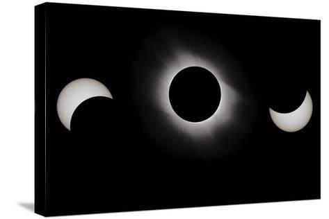 Total Solar Eclipse, 29-03-2006-Eckhard Slawik-Stretched Canvas Print