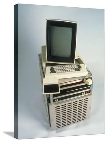 Xerox Alto Computer-Volker Steger-Stretched Canvas Print