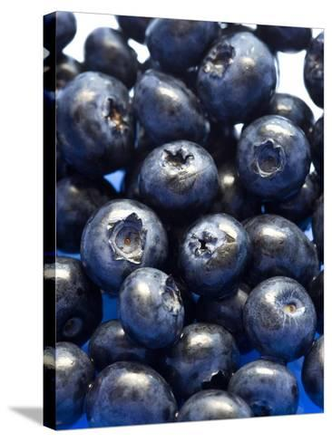 Blueberries-Jon Stokes-Stretched Canvas Print