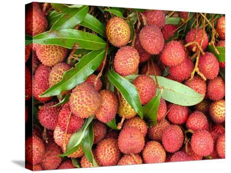 Lychees-Bjorn Svensson-Stretched Canvas Print