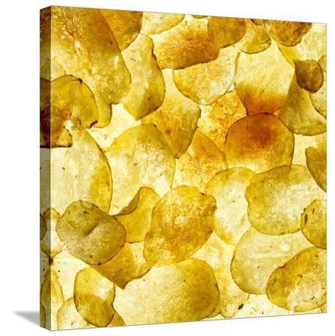 Crisps-Mark Sykes-Stretched Canvas Print