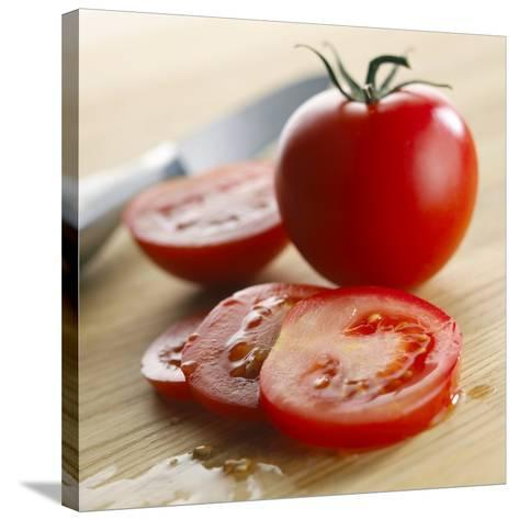 Tomatoes-Mark Sykes-Stretched Canvas Print