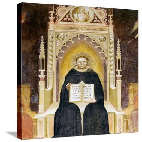 Thomas Aquinas, Italian Priest-Sheila Terry-Stretched Canvas Print