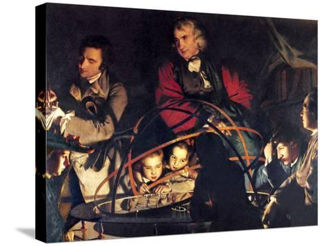 The Orrery by Joseph Wright-Sheila Terry-Stretched Canvas Print