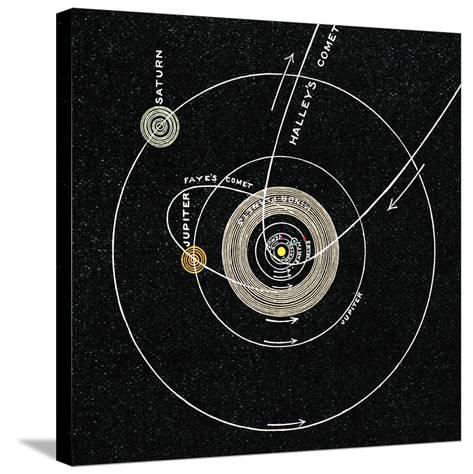 Solar System, 1893-Sheila Terry-Stretched Canvas Print
