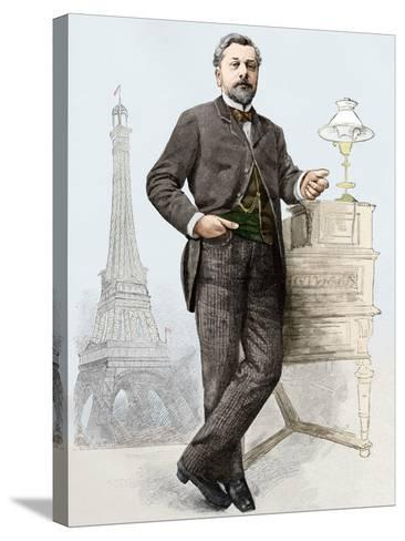 Alexandre Gustave Eiffel (1832-1923), Engineer-Sheila Terry-Stretched Canvas Print