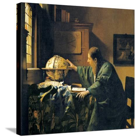 The Astronomer, 17th Century Artwork-Sheila Terry-Stretched Canvas Print