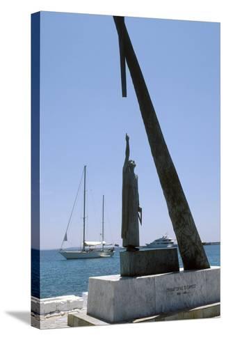 Monument To Pythagoras of Samos-Detlev Van Ravenswaay-Stretched Canvas Print