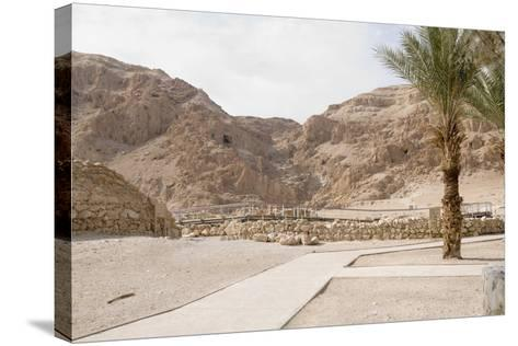 Archaelogical Site of Qumran--Stretched Canvas Print